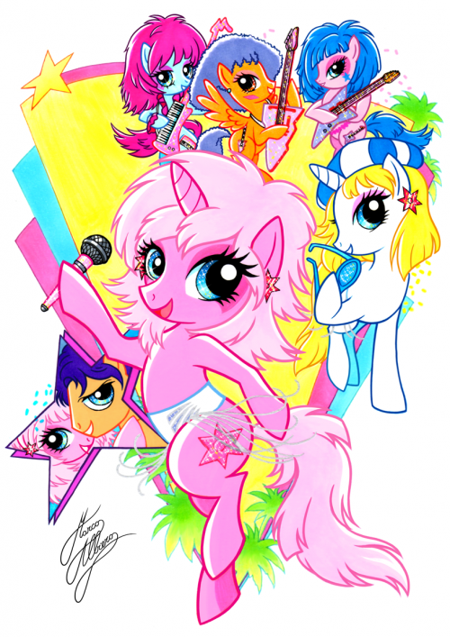 MY LITTLE PONYJEM TRULY OUTRAGEOUS!