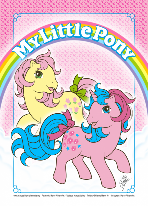 MLP POSEY & BUTTONS
