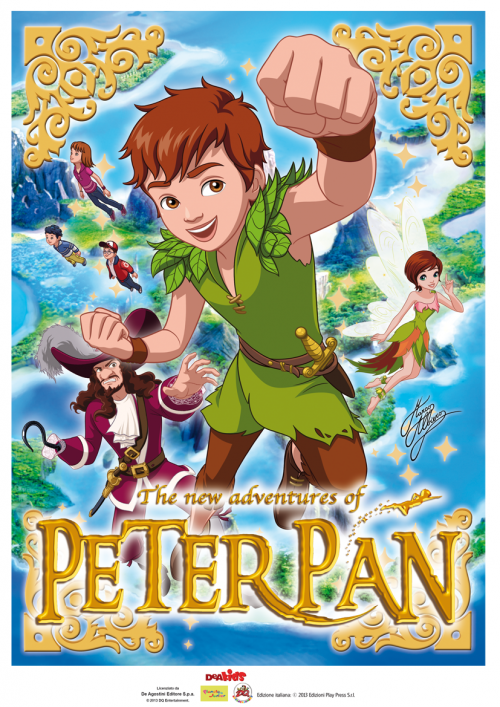 THE NEW ADVENTURES OF PETER PAN 1